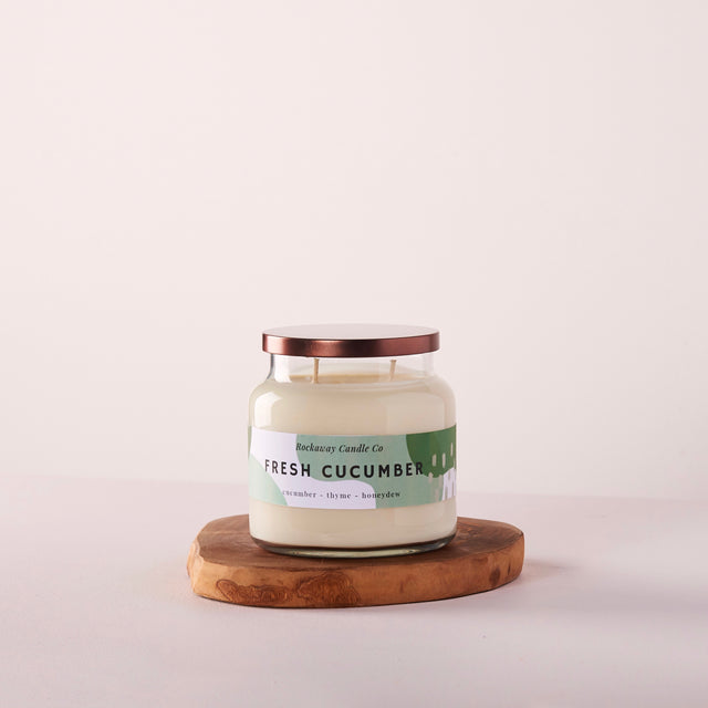 Fresh Cucumber Soy Candle