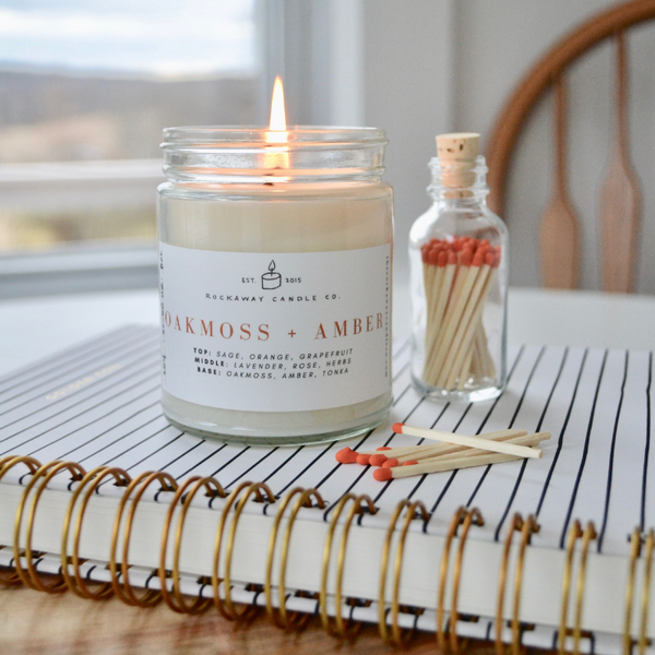 Soy Candle + Match Bundle