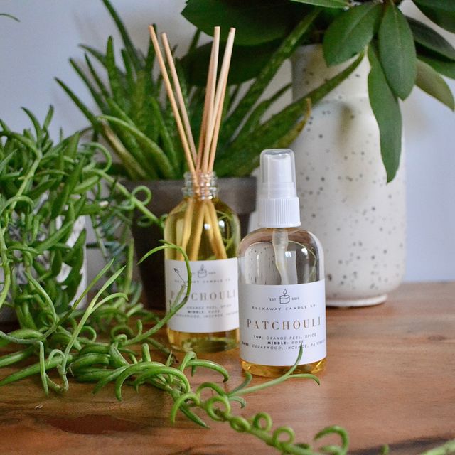 Patchouli Room + Linen Spray