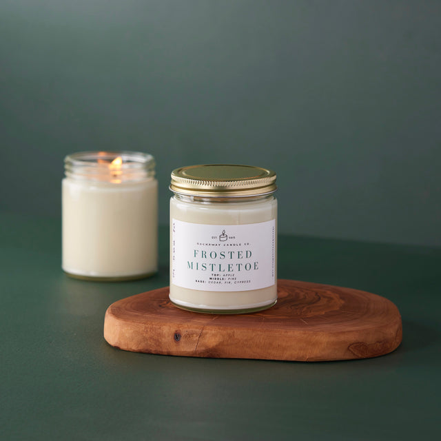 Frosted Mistletoe Soy Candle