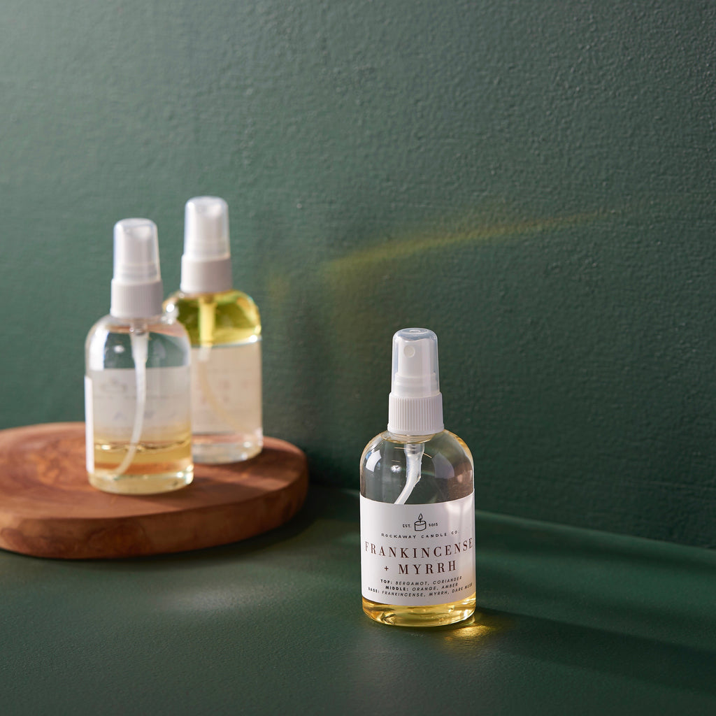 Frankincense + Myrrh Room + Linen Spray