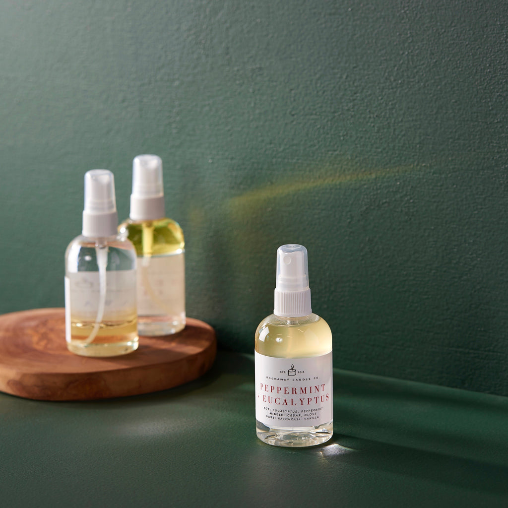 Peppermint + Eucalyptus Room + Linen Spray