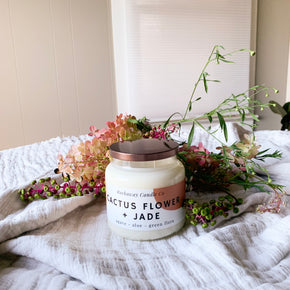 Cactus Flower + Jade Soy Candle