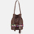 AIKO - Small Bucket Bag - Brown