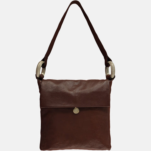 RUBY RAE - Bracelet Bag - Brown NEW