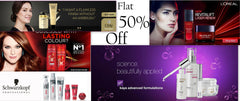 Beauty Care Flat 50% Off