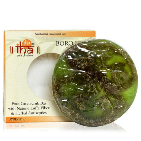 IHA Boro Heal Foot Care Scrub Bar  (100gm) - Fragume.com