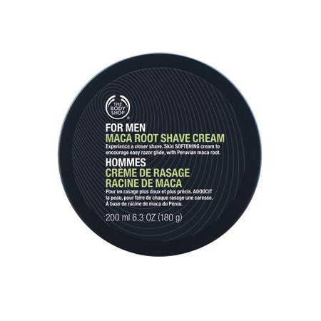 THE BODY SHOP FOR MEN MACA ROOT SHAVE CREAM 200ML - Fragume.com
