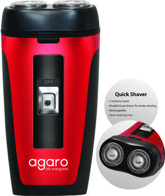Agaro Two Head Rotary DS 581 Shaver For Men - Fragume.com