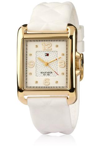 Tommy Hilfiger Analog White Dial Watch - TH1781246/D - Fragume.com