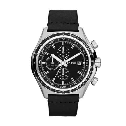Fossil Decker Chronograph Black Dial Watch - CH2810 - Fragume.com