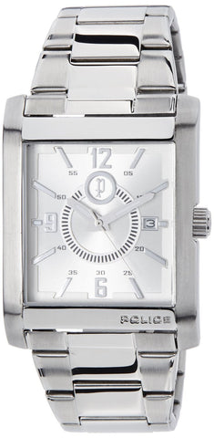 Police Analog Silver Dial Men's Watch - PL12549MS/04M - Fragume.com