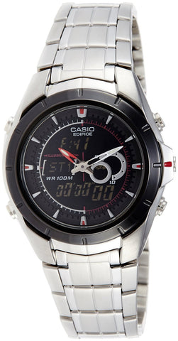 Casio Edifice Chronograph Black Dial Watch - EFA-119BK-1AVDF (ED240) - Fragume.com