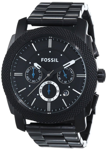 Fossil Analog Black Dial Watch - FS4552 - Fragume.com