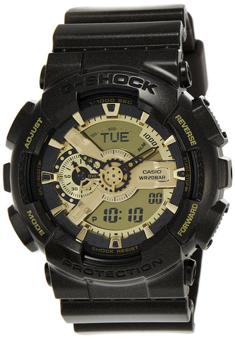 Casio G-Shock Analog-Digital Black Dial Watch - GA-110BR-5ADR (G459) - Fragume.com