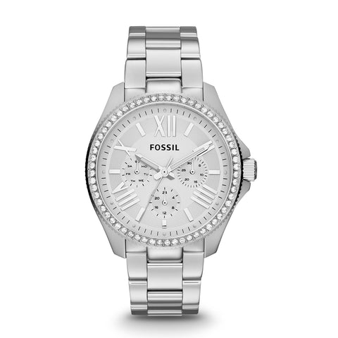 Fossil Cecile Multifunction Stainless Steel Watch - AM4481 - Fragume.com