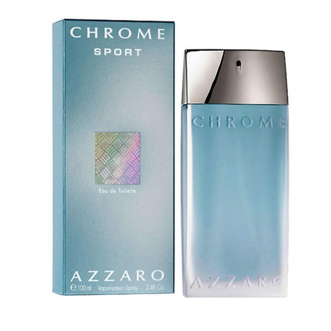 AZZARO CHROME Sport EDT for Men 100ml perfume - Fragume.com