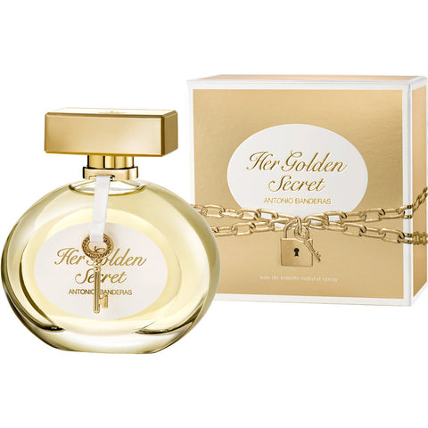 Antonio Banderas Her Golden Secret For Women (80ml) - Fragume.com