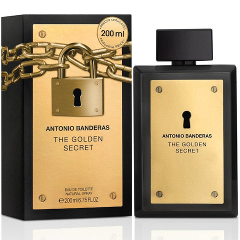 Antonio Banderas The Golden Secret For Men (200ml) - Fragume.com