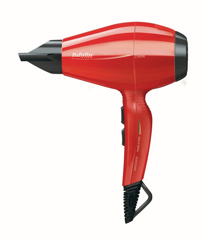 Babyliss 6615E Hair Dryer Red - Fragume.com