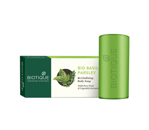 Biotique Basil & Parsley Soap