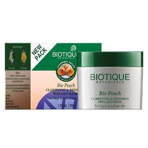Biotique Peach Clarifying & Refining Peel Off Mask