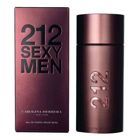 Carolina Herrera 212 Sexy Men EDT For Him (100ml) - Fragume.com