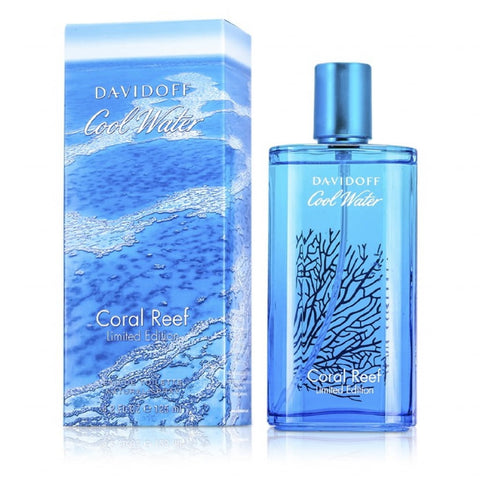 Davidoff Cool Water Coral Reef Limited Edition EDT For Men (125ml)