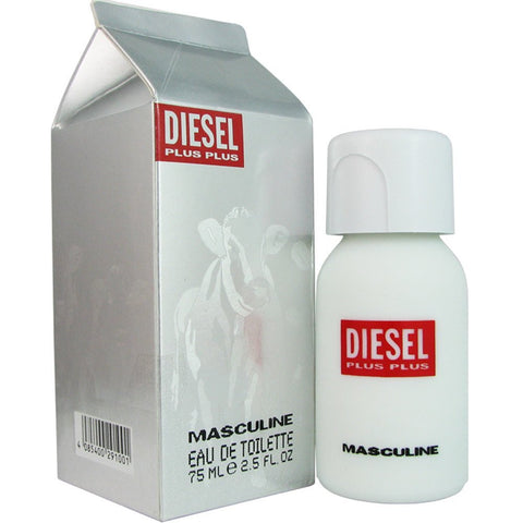 Diesel Plus Plus Masculine EDT For Men (75ml) - Fragume.com