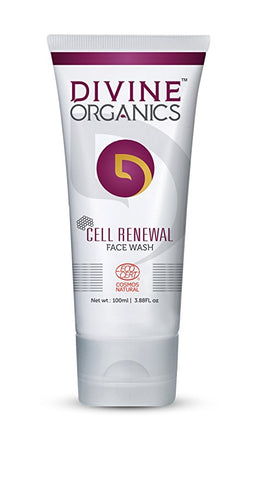 Divine Organics Cell Renewal Face Wash (100ml)
