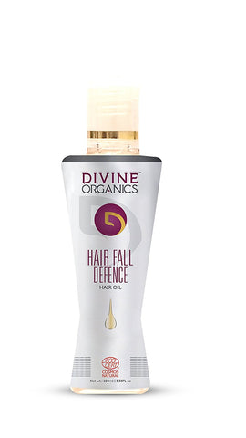 Divine Organics Hair Fall Defence Hair Oil (100ml)