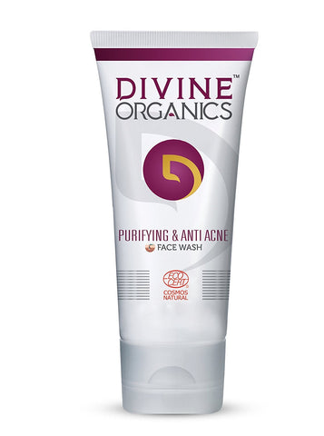 Divine Organics Purifying & Anti Acne Face Wash (50ml)