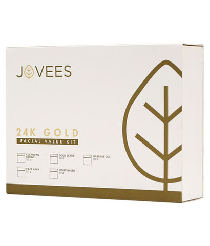 Jovees 24 Carat Gold Rejuvenating Facial kit - Fragume.com