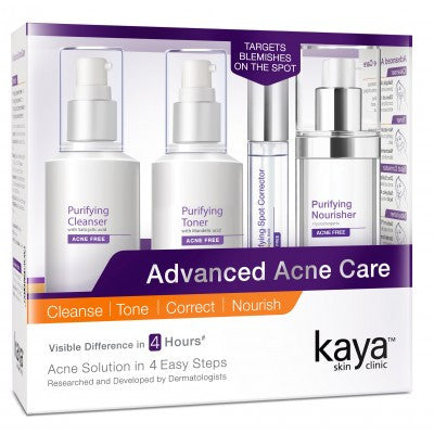 Kaya Skin Clinic Advanced Acne Care Kit - Fragume.com