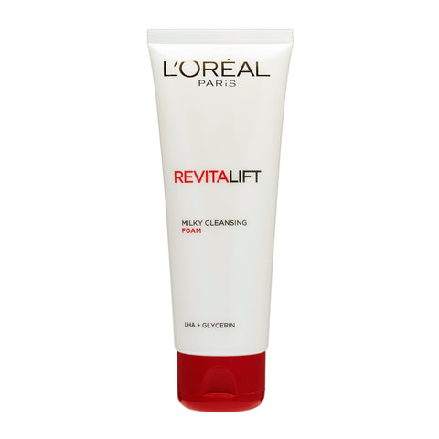 Loreal Paris Revitalift Milky Cleansing Foam Face Wash (100 Ml) - Fragume.com