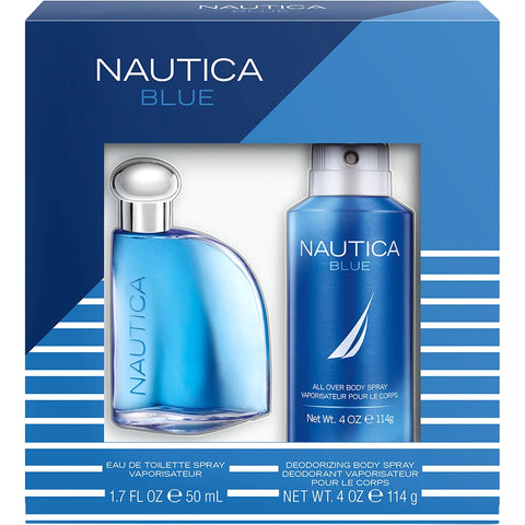 Nautica Blue 2 PC Gift Set For Men (100ml)