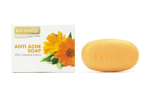 Richfeel Calendula Soap For Acne (75g) - Fragume.com