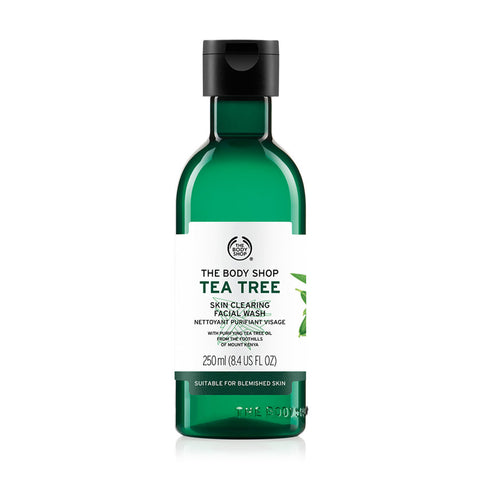 The Body Shop Tea Tree Skin Clearing Facial Wash  (250ml) - Fragume.com