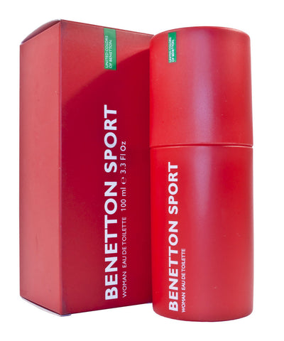 Benetton Sport EDT For Women (100ml) - Fragume.com