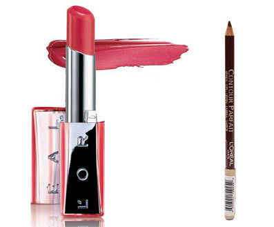 LOreal Paris Contour Parfait Lip Liner + LOreal Paris Color Riche Nutri Shine - Fragume.com