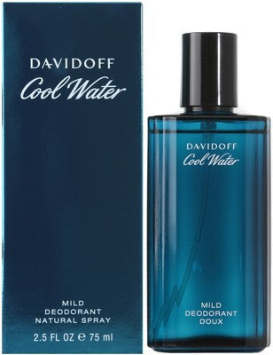 Davidoff Cool Water Deo EDT (75ml) - Fragume.com