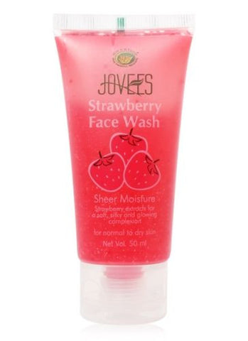 Jovees Strawberry Face Wash (50ml) - Fragume.com