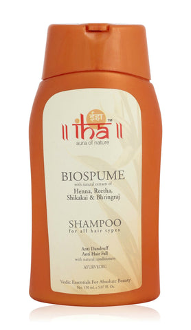 IHA Biospume Anti Dandruff Anti Hair Fall Shampoo (150ml) - Fragume.com