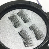 2017 Hot False Eyelashes Handmade 3D Magnetic False Eyelashes Natural Eyes Lashes Extension 1 Pair False Eyelashes Makeup Tools