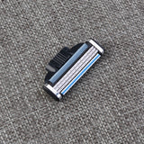 16pcs Mens Manual Razor Blade for Gillette Mach3 Razor Head (Black)
