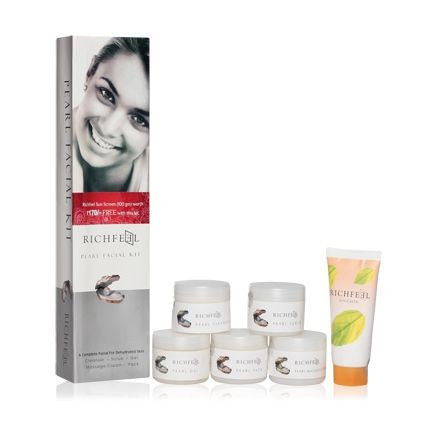 Richfeel Pearl Facial Kit - Fragume.com