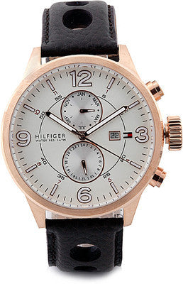 Tommy Hilfiger Analog White Dial Watch - TH1790900/D - Fragume.com