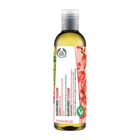 The Body Shop Rain Forest Volume Shampoo For Fine Hair (250ml) - Fragume.com