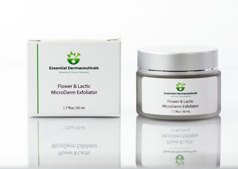 Premium skincare products, skin exfoliation, exfoliating,