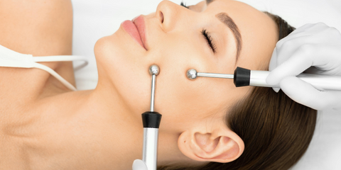 Microcurrent MDLift Advanced Facial at Anika Skincare- non invasive Face and necklift